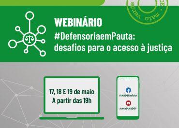 """Vem aí: ANADEP promoverá webinário """"#DefensoriaemPauta: desafios para o acesso à justiça"""