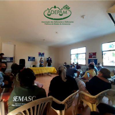 Impacto social: Adepam participa de roda de conversa com acolhidos do Amine Daou em situação de vulnerabilidade